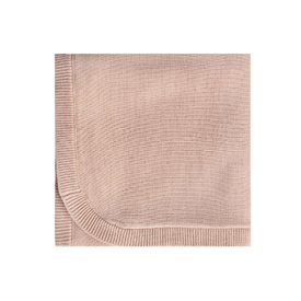 Quincy Mae Quincy Mae Knit Baby Blanket 33x33 - Petal