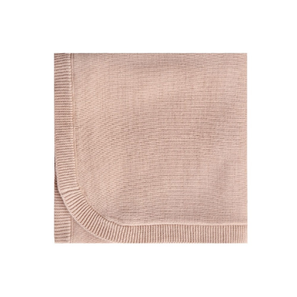 Quincy Mae Quincy Mae Knit Baby Blanket 33x33 - Petal