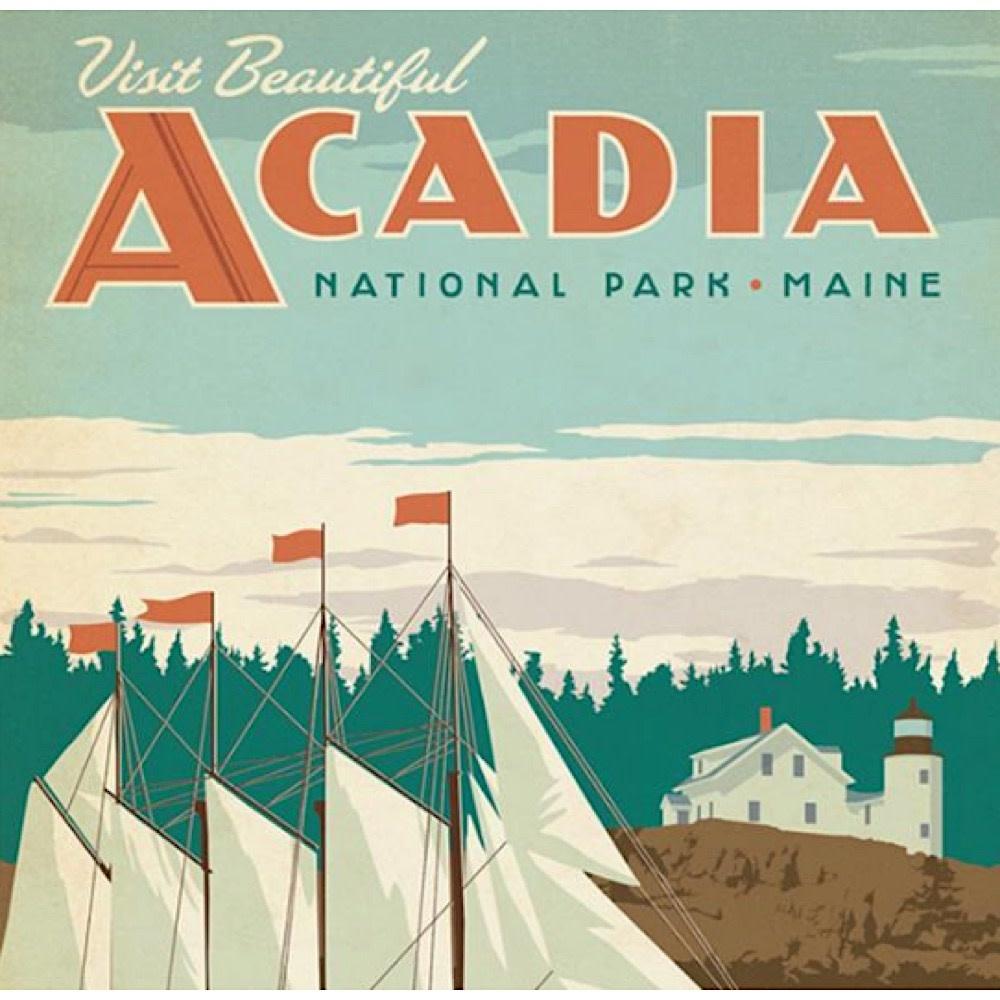 True South Puzzle Acadia - 500 Pieces