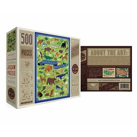 True South Puzzle True South Puzzle Animals of North America - 500 Pieces