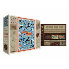 True South Puzzle True South Puzzle Birds of North America - 500 Pieces
