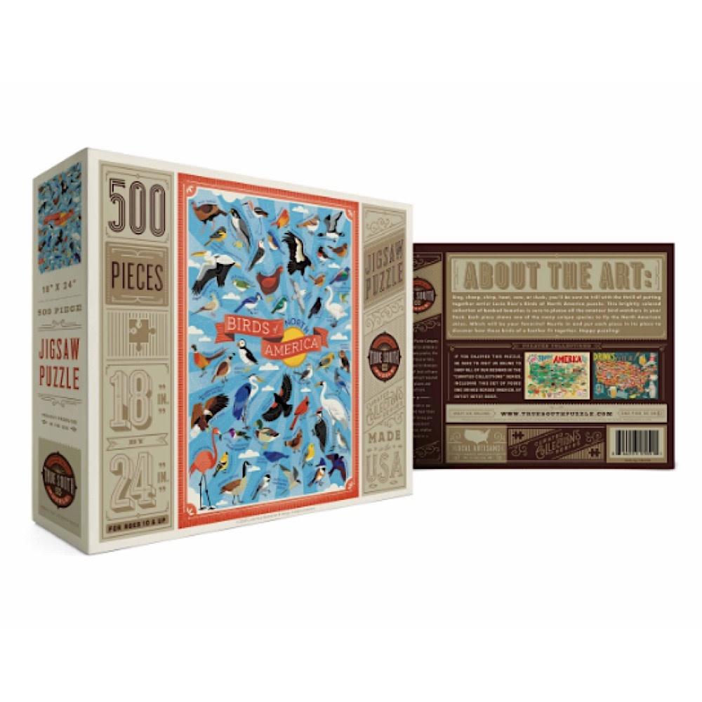 True South Puzzle True South Puzzle Birds of North America - 500 Pieces