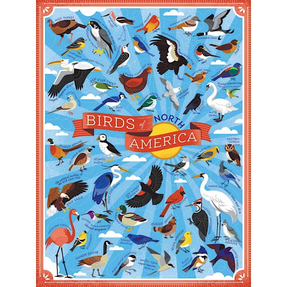 True South Puzzle Birds of North America - 500 Pieces