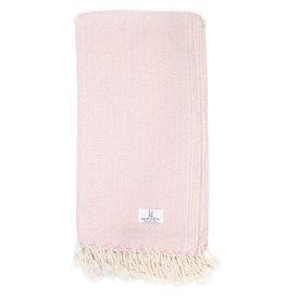KT Woven KT Woven - Diamond Peshtemal Scarf - Pink
