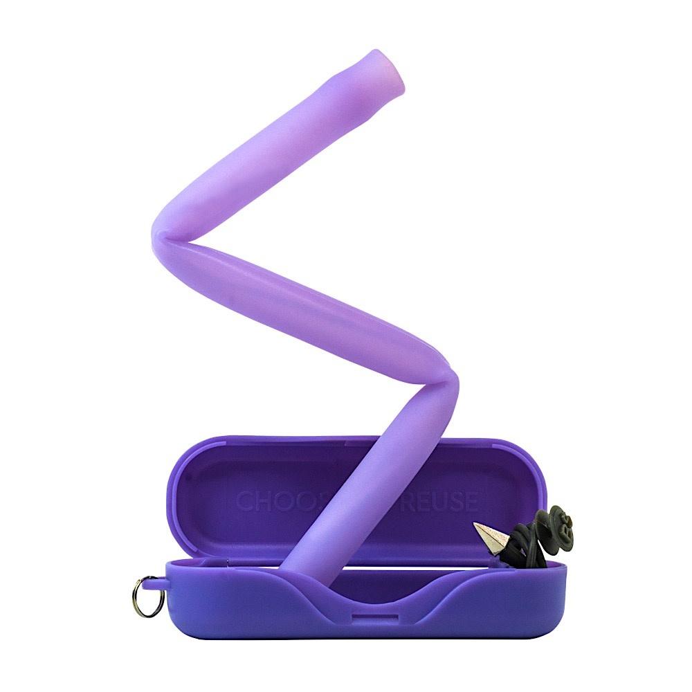 Final Straw Final Straw Biggie Straw - Purple