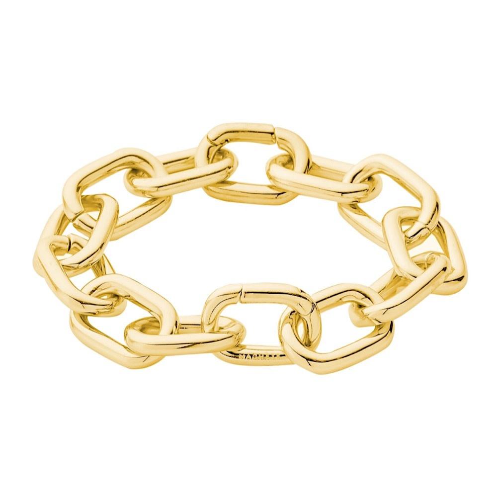 Machete - Interchangeable Link Bracelet - Gold