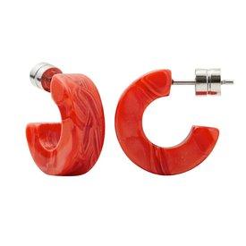 Machete Machete - Muse Hoop Earrings - Poppy