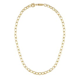 Machete Machete - Oval Link Necklace - Gold - 18 Inch