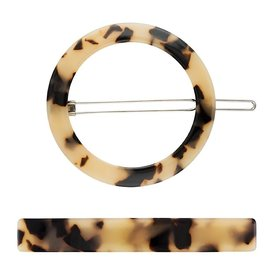 Machete Machete - Circle & Slim Clip Set - Blonde Tortoise