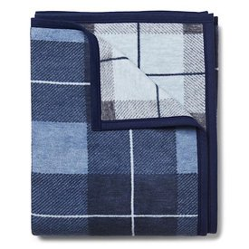 Chappy Wrap Chappy Wrap Blanket - Sea Watch Plaid Blue