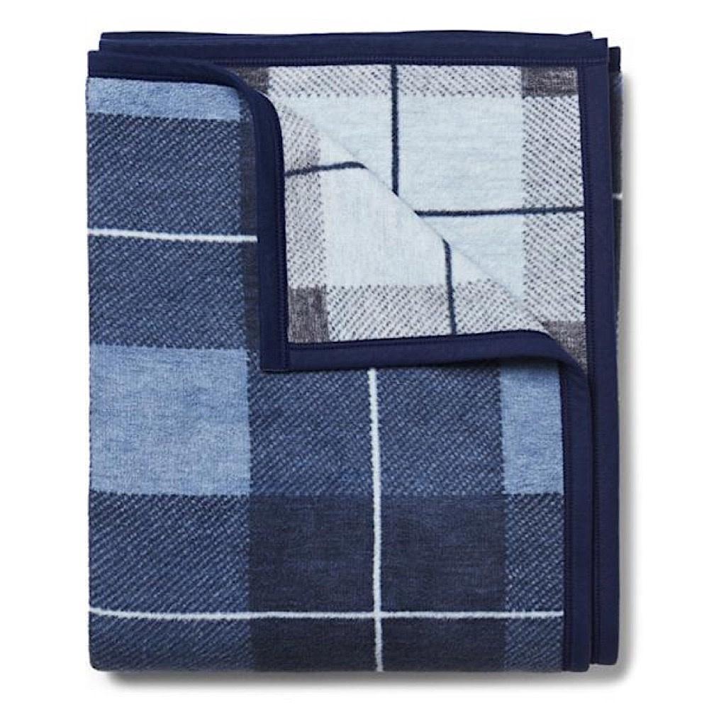 Chappy Wrap Chappy Wrap Blanket - Sea Watch Plaid Blue