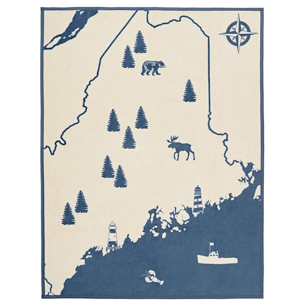 Chappy Wrap Blanket - Maine