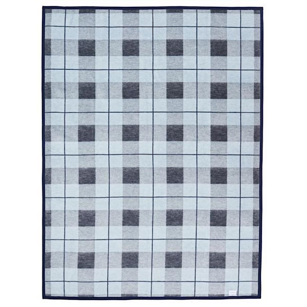 Chappy Wrap Blanket - Sea Watch Plaid Blue