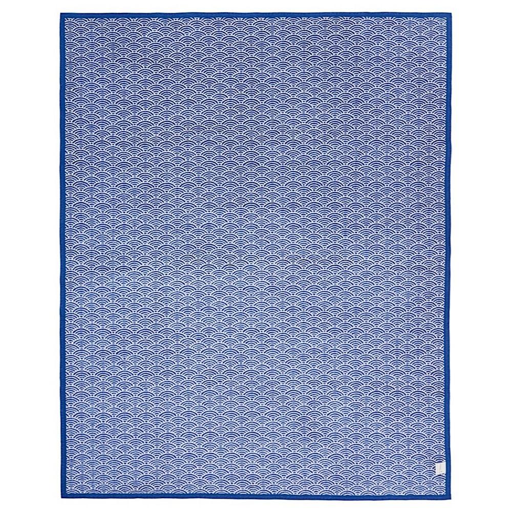 Chappywrap Blanket - Brewster Scallops Blue