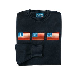 Kiel James Patrick Kiel James Patrick Sweater - Old Glory - Navy - XL