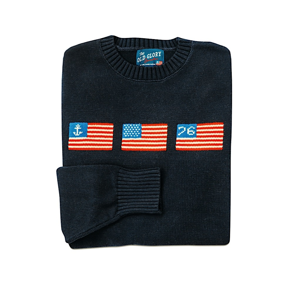 Kiel James Patrick Sweater - Old Glory - Navy - XL
