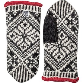Hestra Hestra Mitten - Nordic Wool - Black/Off White