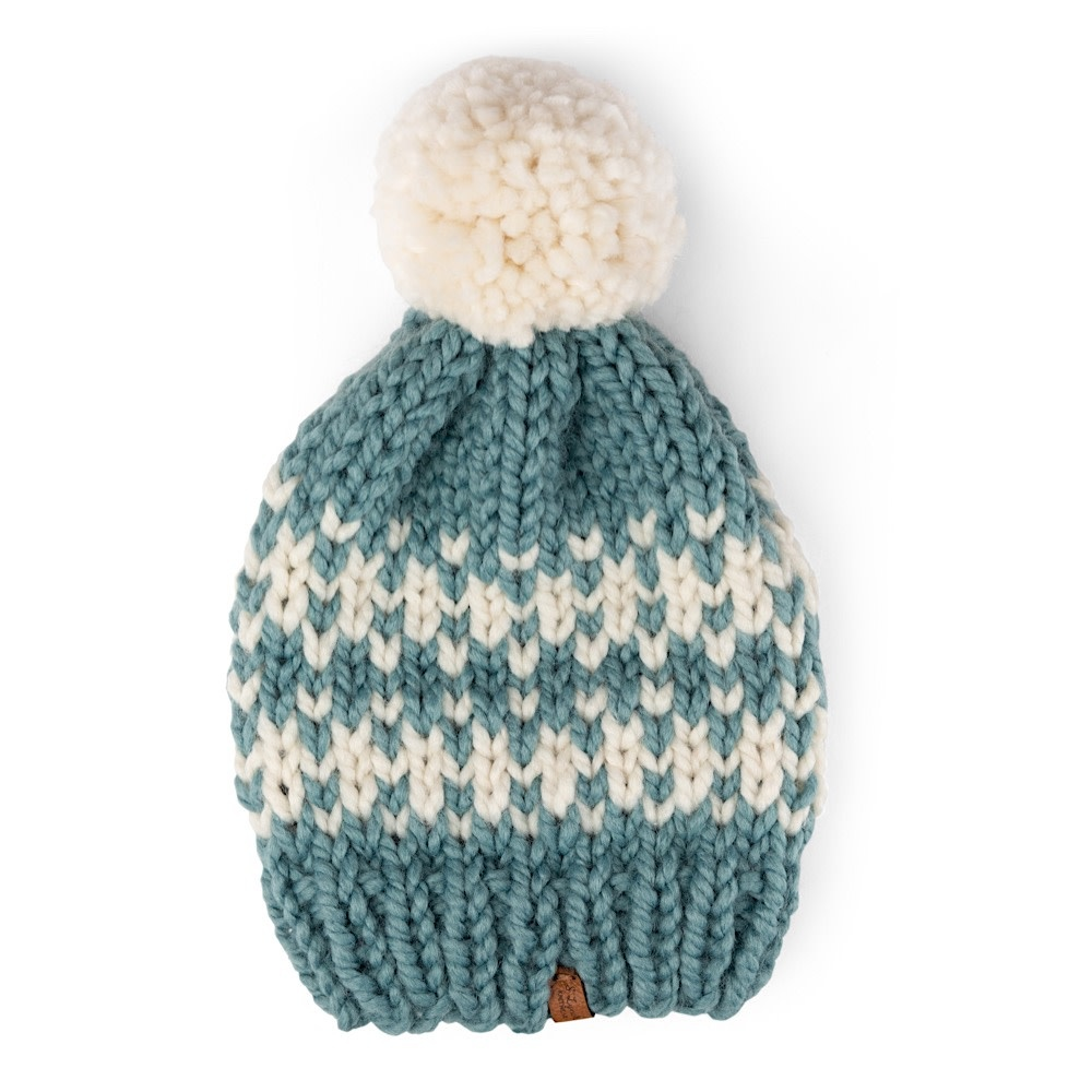 S. Lynch Knitwear Adult Hat - Mint Quilt Exclusive