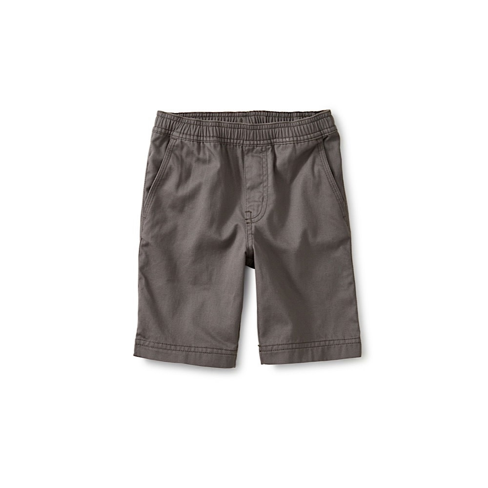 Tea Collection Easy Does It Twill Shorts - Indigo