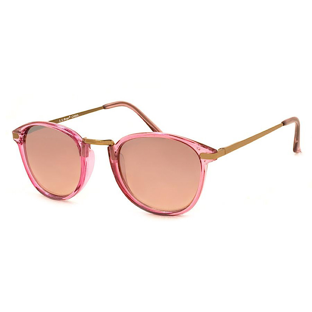 AJ Morgan Castro Sunglasses - Crystal Light Pink