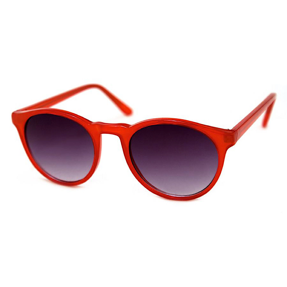 Grad School Sunglasses - Red