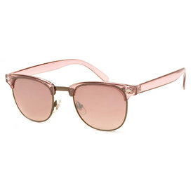 AJ Morgan Soho Sunglasses - Crystal/Light Pink