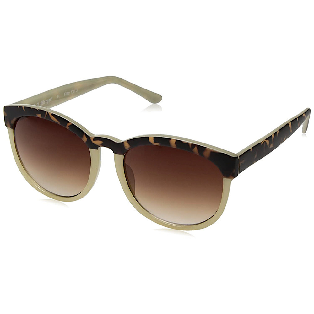 AJ Morgan Endearing Sunglasses Matte Tortoise/ Cream