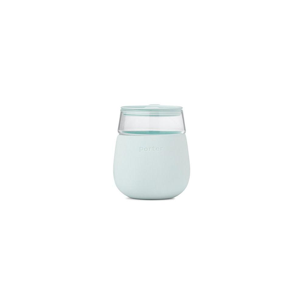 Porter Porter Glass Cup 15oz - Mint