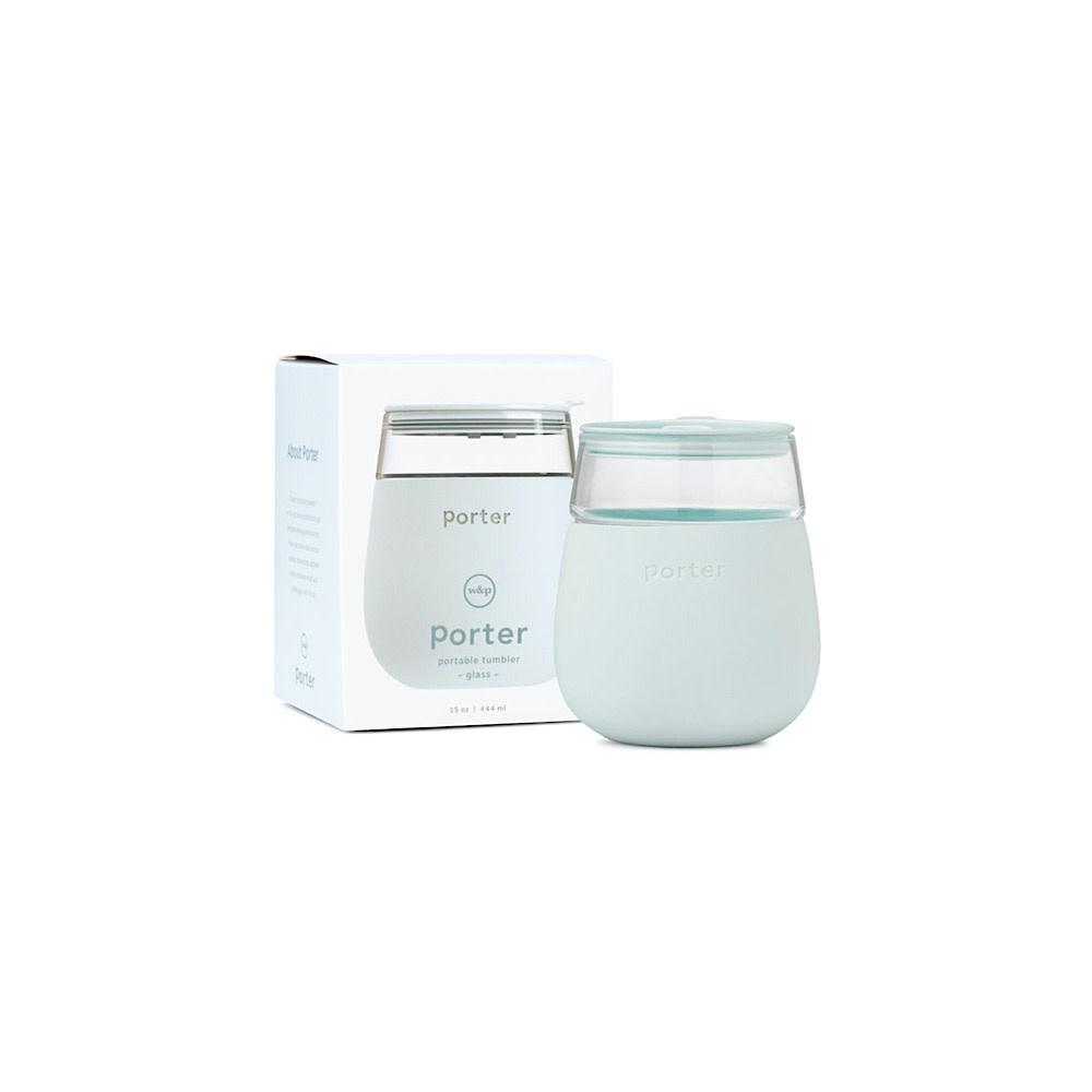 Porter Glass Cup 15oz - Mint