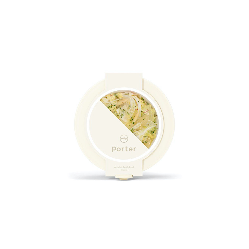 Porter Porter Bowl Plastic - Cream
