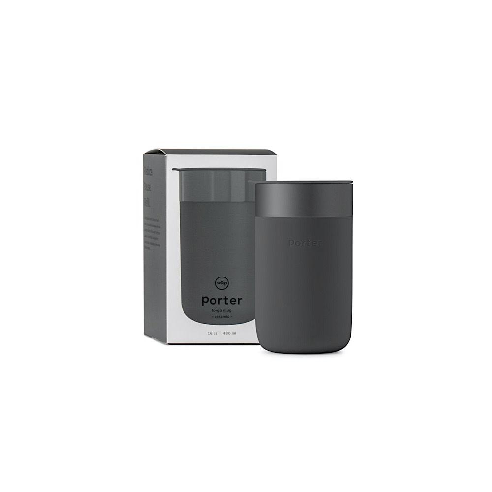 Porter Porter Mug 16oz - Charcoal