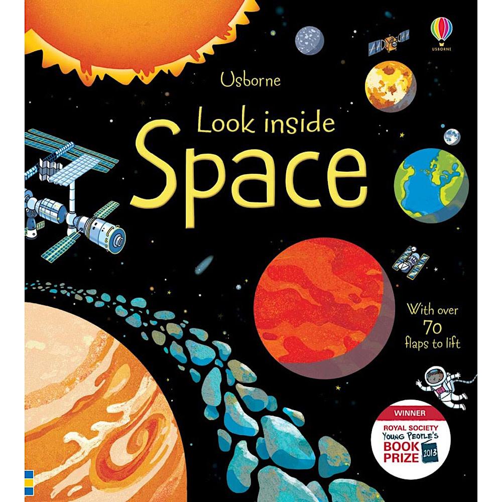 Usborne Peek Inside Space Board Book