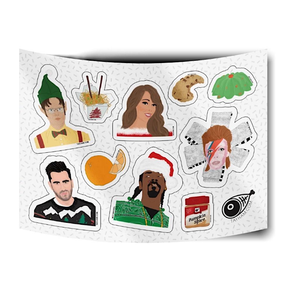 Tay Ham Tay Ham Holiday Sticker Sheet
