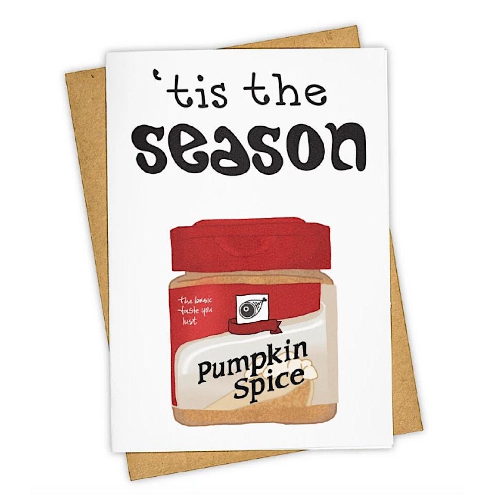 Tay Ham Tay Ham Pumpkin Spice Card