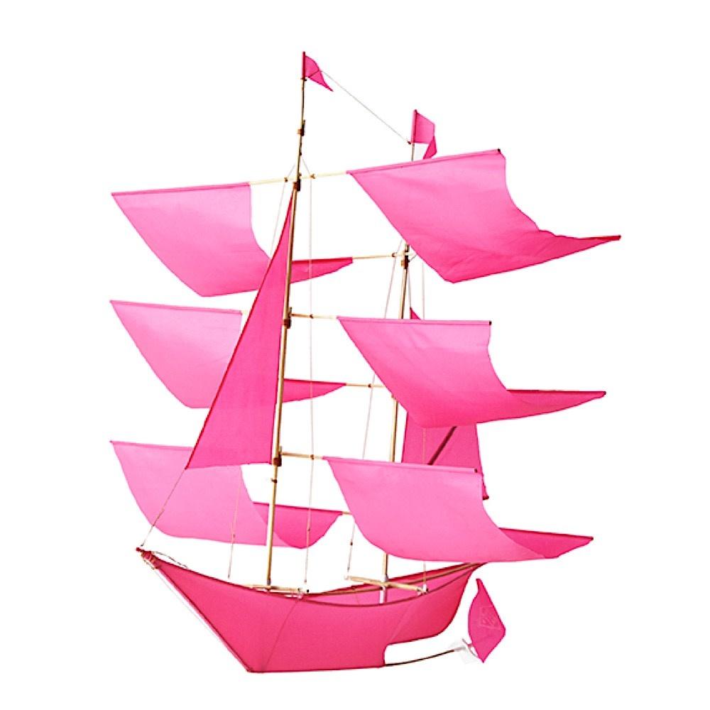 Haptic Lab Sailing Ship Kite - Hot Pink