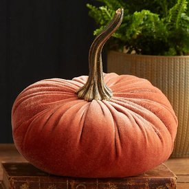Your Heart's Content Your Heart's Content Small Velvet Pumpkin - Harvest