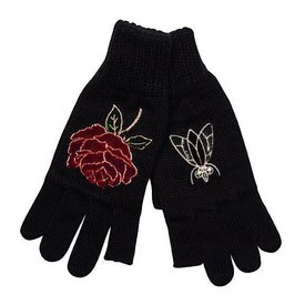 San Diego Hat Company Texting Finger Gloves with Patches