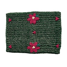San Diego Hat Company Poinsettia Infinity Scarf