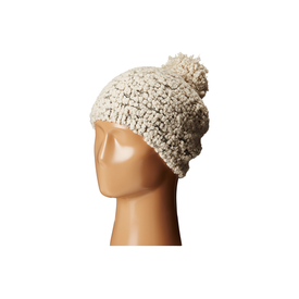 San Diego Hat Company Plush Yarn Beanie with Gold Sequins