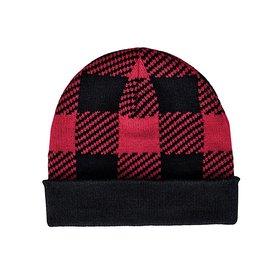 San Diego Hat Company Kids Beanie - Buffalo Plaid