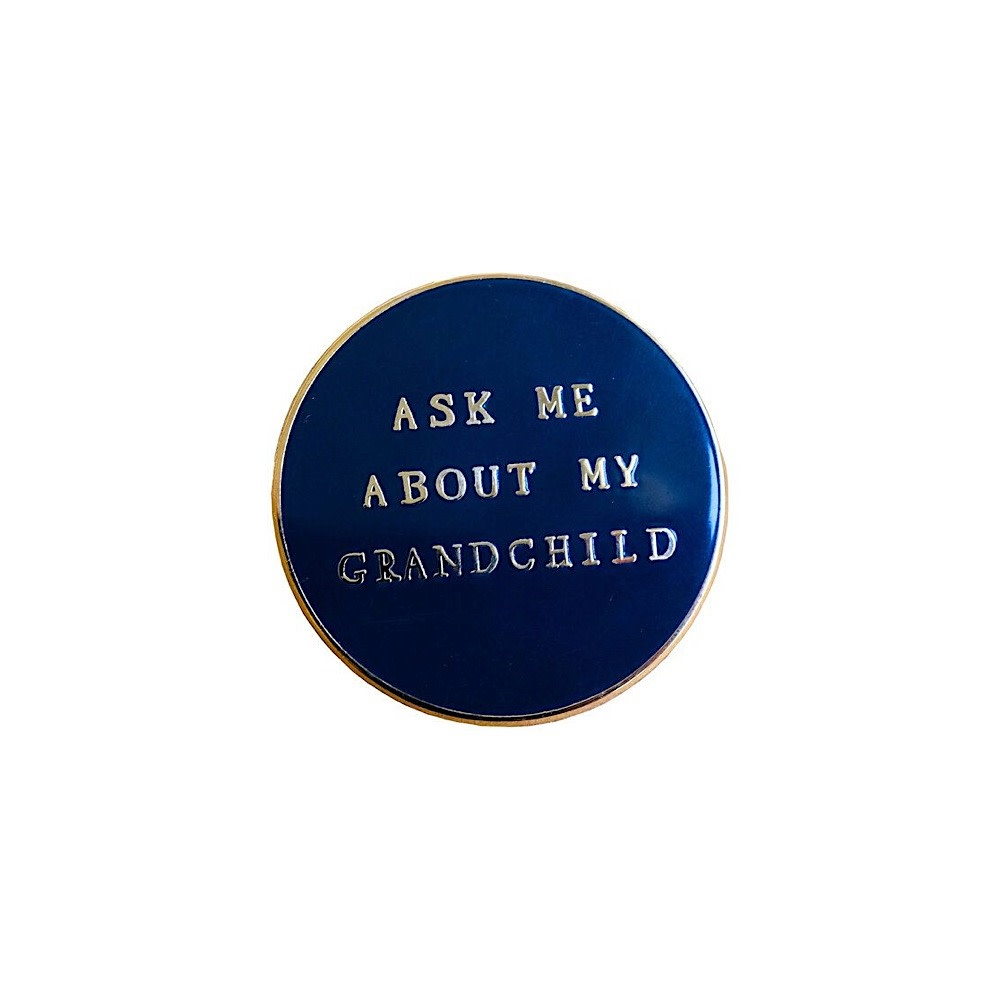 Mr. Boddington's Studio Pin - Ask Me About My Grandchild