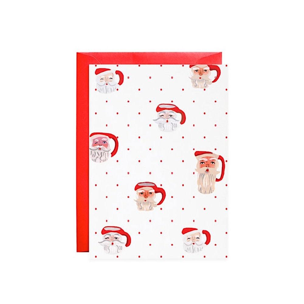 Mr. Boddington's Studio Santa Mugs Petite Card