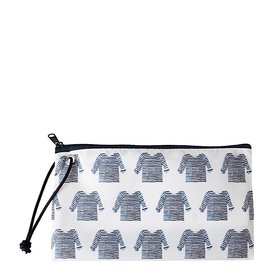 Sea Bags Sea Bags Sara Fitz - Striped Shirt - Wristlet