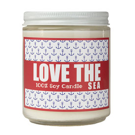 Seawicks Seawicks Candle - 7oz - Love The Sea