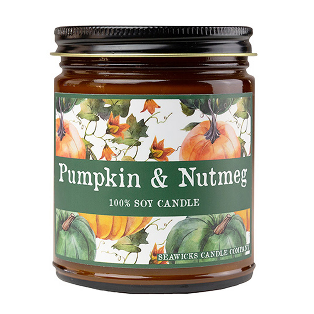 Seawicks Seawicks Ambler Candle - Pumpkin and Nutmeg