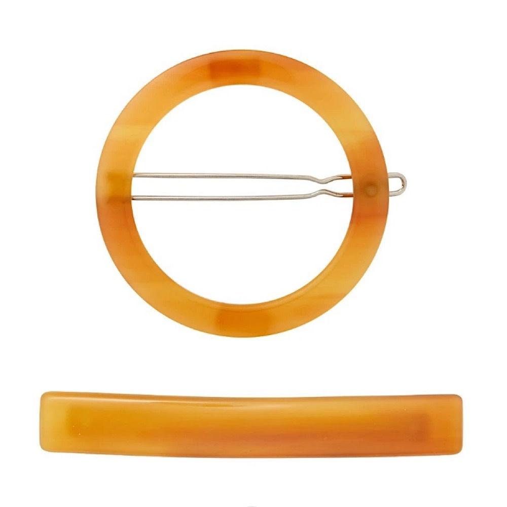 Machete Machete - Circle & Slim Clip Set - Cognac