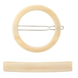 Machete Machete - Circle & Slim Clip Set - Alabaster