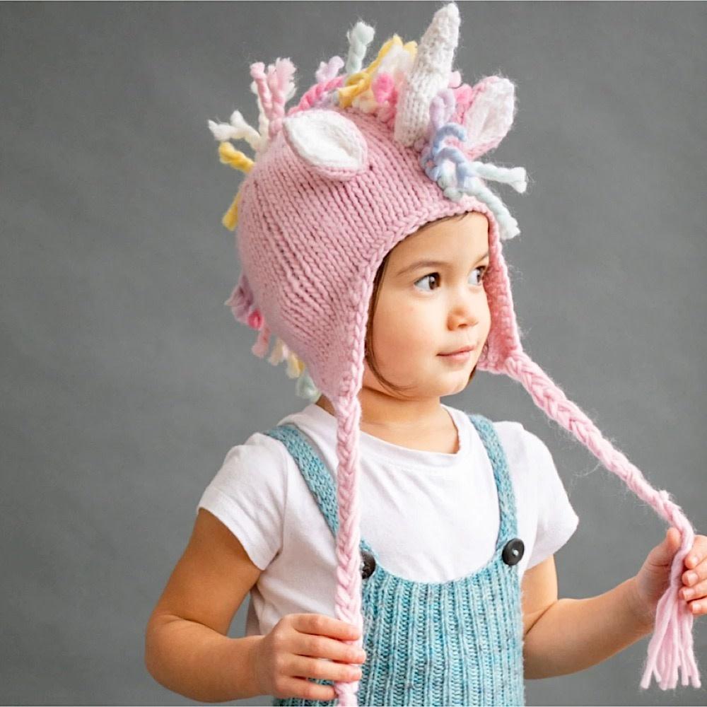 The Blueberry Hill Unicorn Hat