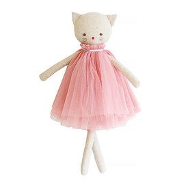 Alimrose Alimrose Aurelie Linen Cat Doll - Blush