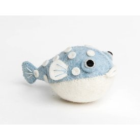 Craftspring Craftspring Big Puff Pufferfish - Blue